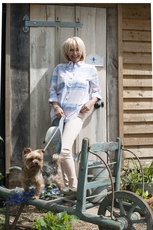 White Stuff shirt, £65, pink skinny jeans, £49.95, Seasalt hat, £25, Charity Farm Countrystore, Cranbrook charityfarmcountrystore.co.uk; jewellery, model's own