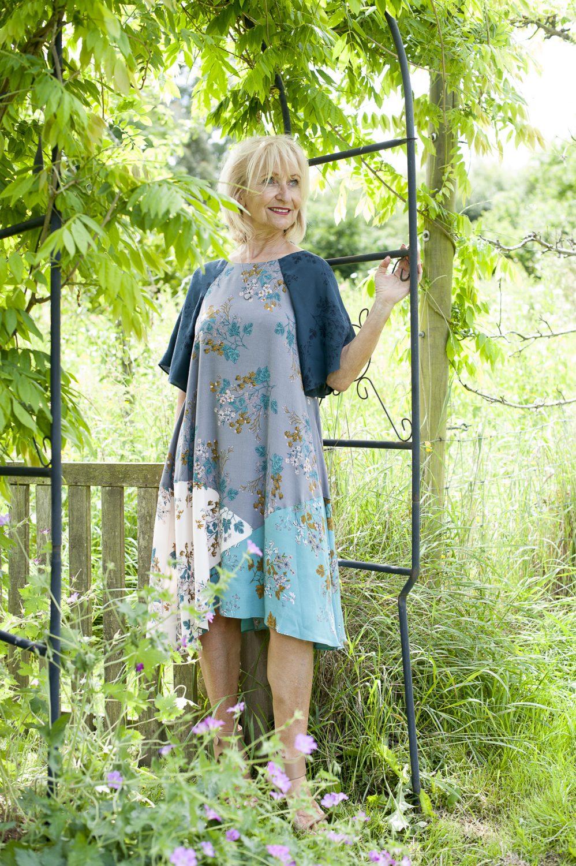 White Stuff dress, £65, Charity Farm Countrystore, Cranbrook charityfarmcountrystore.co.uk; Sol Sana heels, £135, Odyl, Cranbrook odyldesign.com