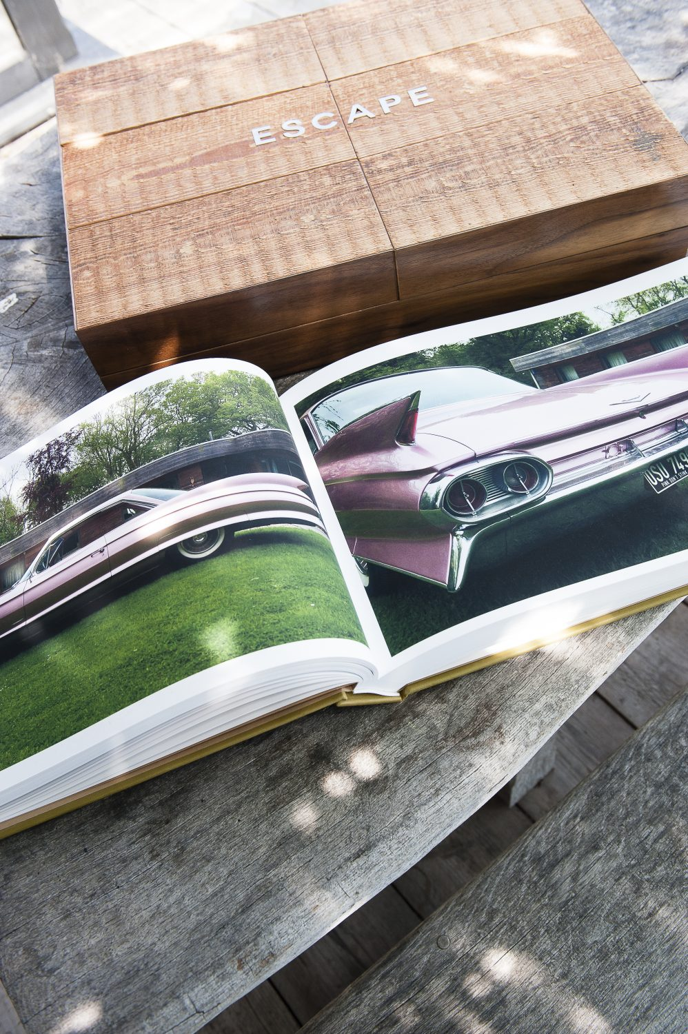 One of Cache's beautifully presented bespoke coffee table books