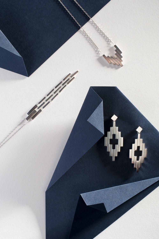 Aria Pendants, from £150, Earrings, from £175, G Cornell & Sons gcornell.co.uk