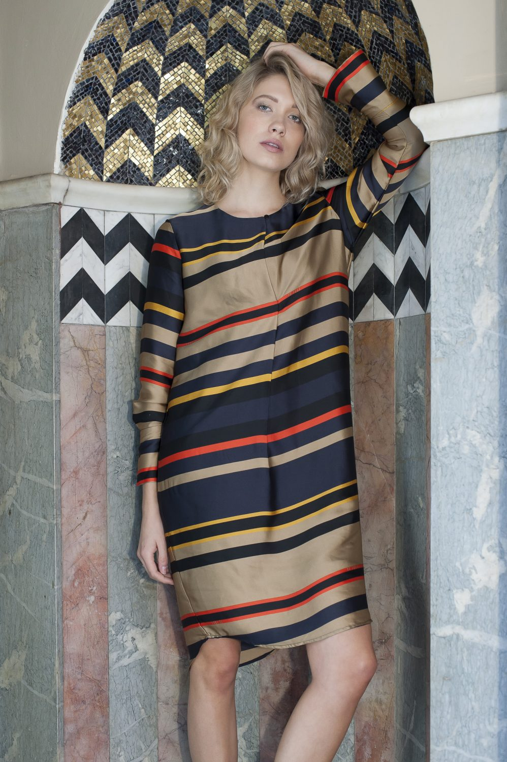 10 Feet stripe dress, £110, Odyl, Cranbrook odyldesign.com