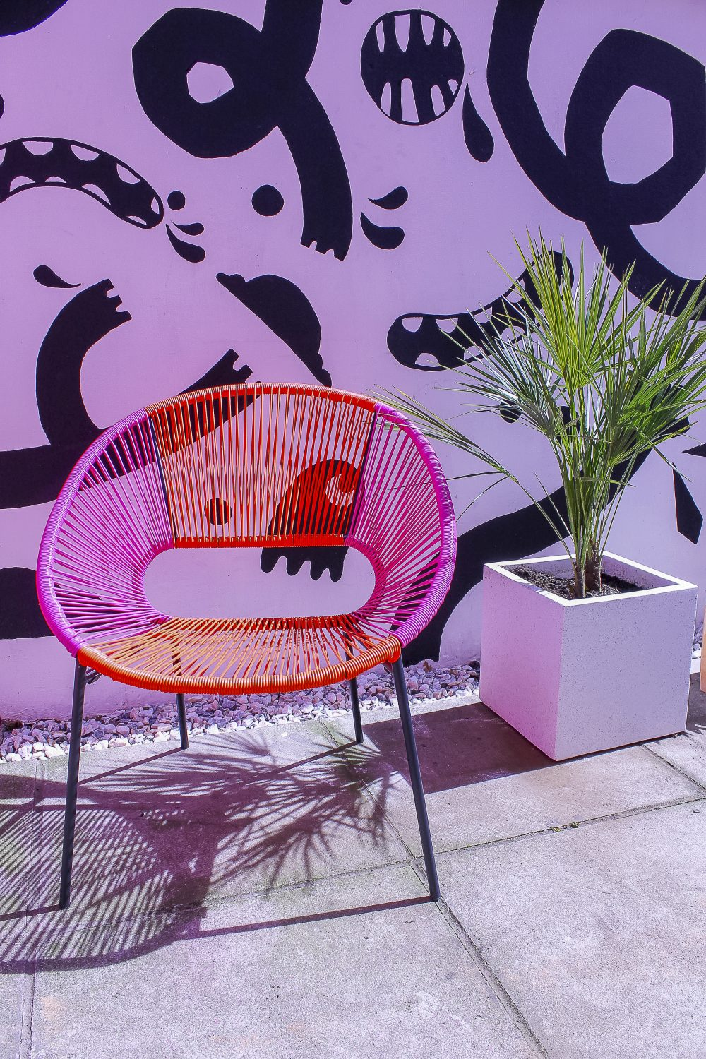 "A varied range of clients have already used the house and courtyard garden as a location. ""I've been surprised at how well it's gone so far,"" she says. ""It's mainly fashion shoots and music videos – pop, rap, grunge. The pop people like the saturated colours, rap are darker and use smoke."""