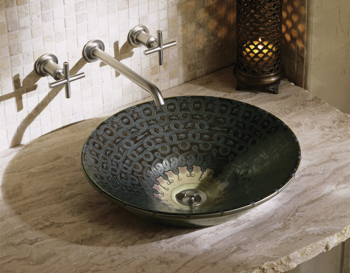 Serpentine Bronze on Conical Bell, £11,509 West One Bathrooms, westonebathrooms.com