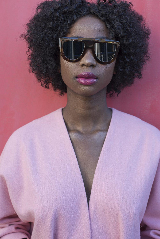 Sunglasses, £239, Celine at Fenwick Tunbridge Wells fenwick.co.uk; longline jacket, £220, Travelling Bazaar travelling-bazaar.com