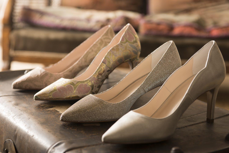 Lisa Kay shoes, £145, Melita of Chobham motherofthebridechobham.co.uk 01276 856308