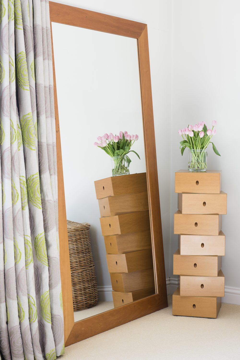 The 'stacked' drawers unit is from The Conran Shop