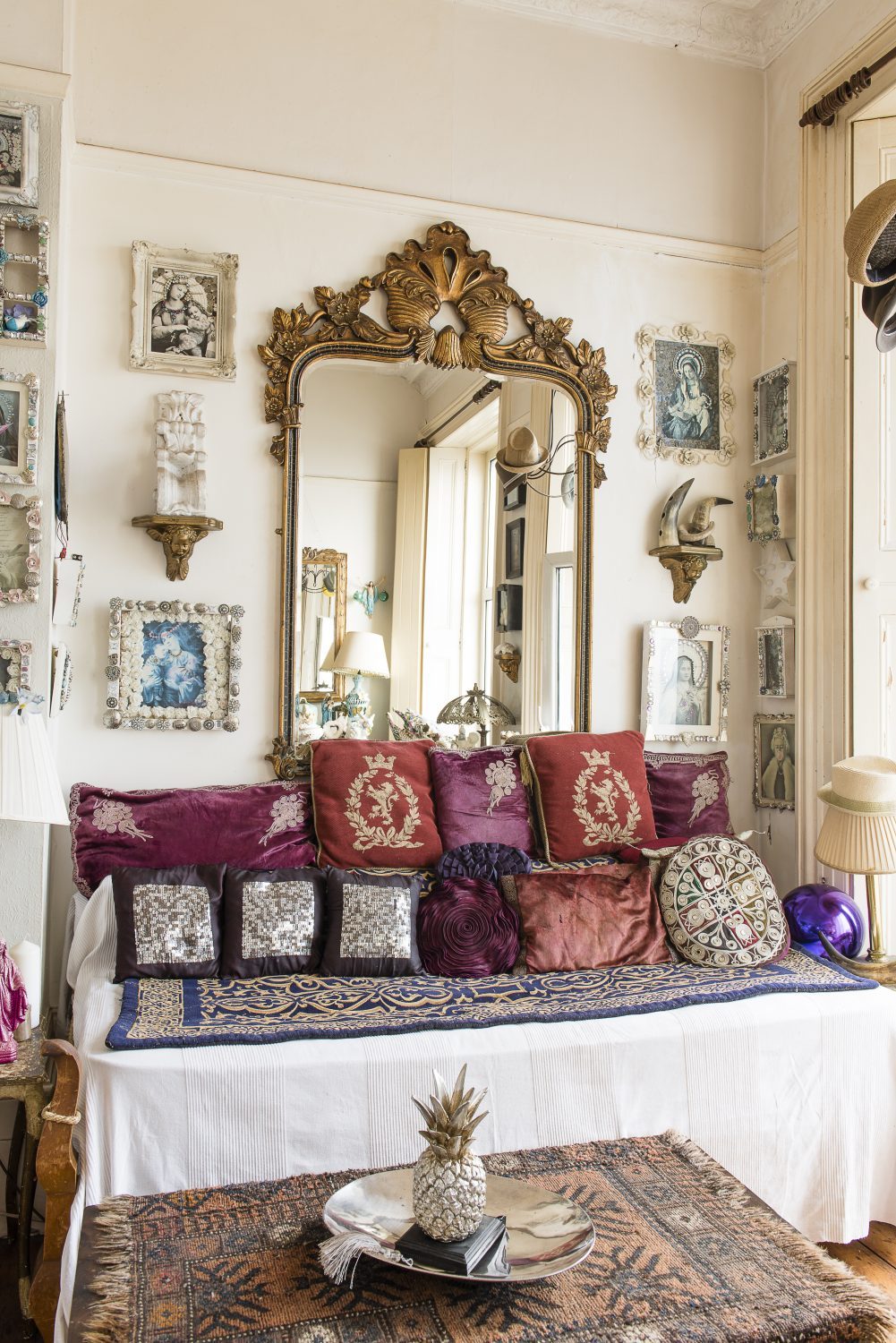 Sassy seafront home is a dreamy paradise of rescued, saved and upcycled treasures
