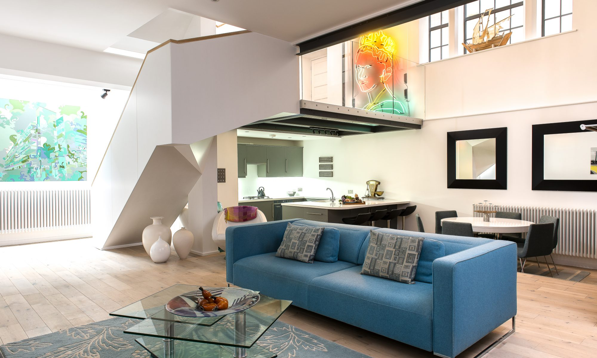 The main living area