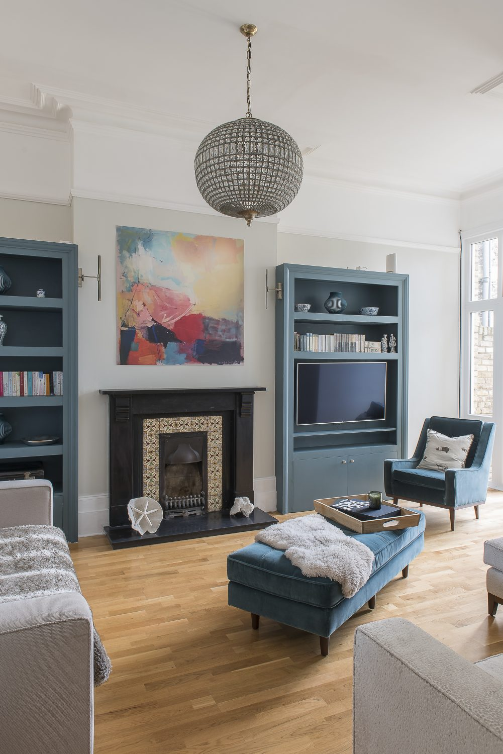 """We wanted space, high ceilings – and working fireplaces were a must. It had to be close to the beach and have a sea view from at least one bedroom."""
