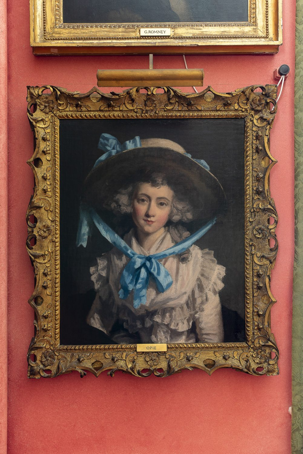 A portrait of Charlotte Warde, mother of The Admiral – 4th generation at Squerryes Court – by John Opie