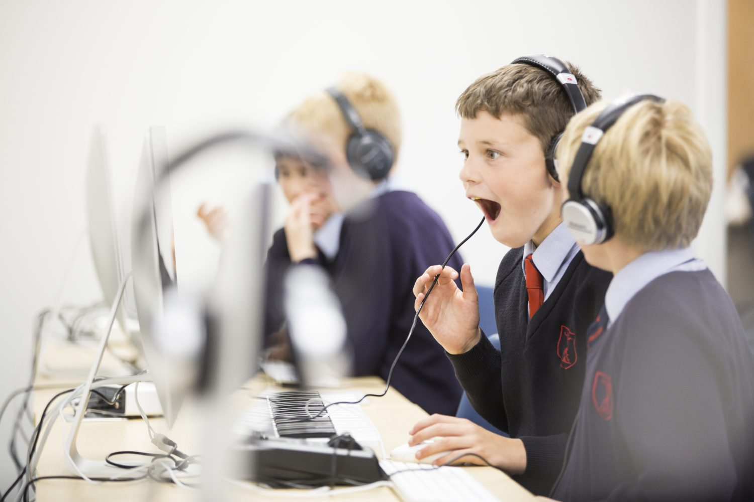 Young learners at The New Beacon School, Sevenoaks
