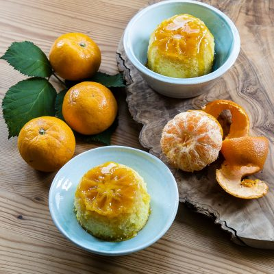 Sticky Clementine Puddings