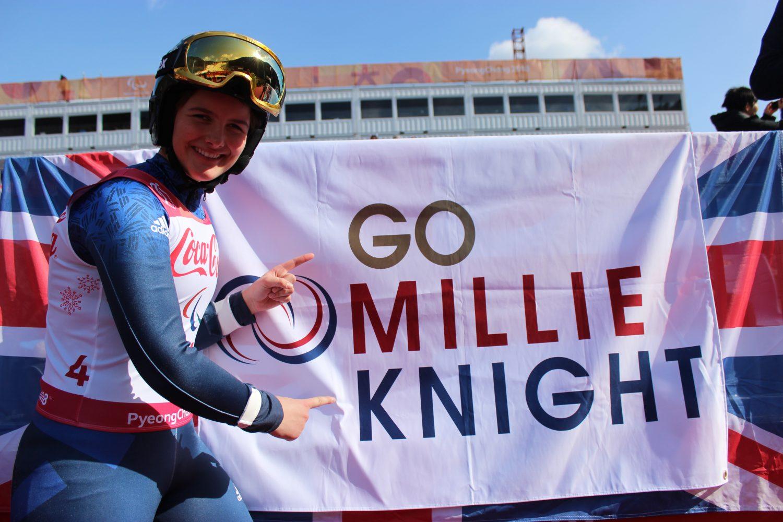 Millie Knight, Winter Paralympian