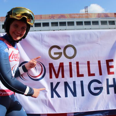 Millie Knight, Winter Paralympian