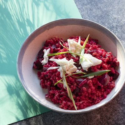 Beetroot & Pearl Barley Risotto