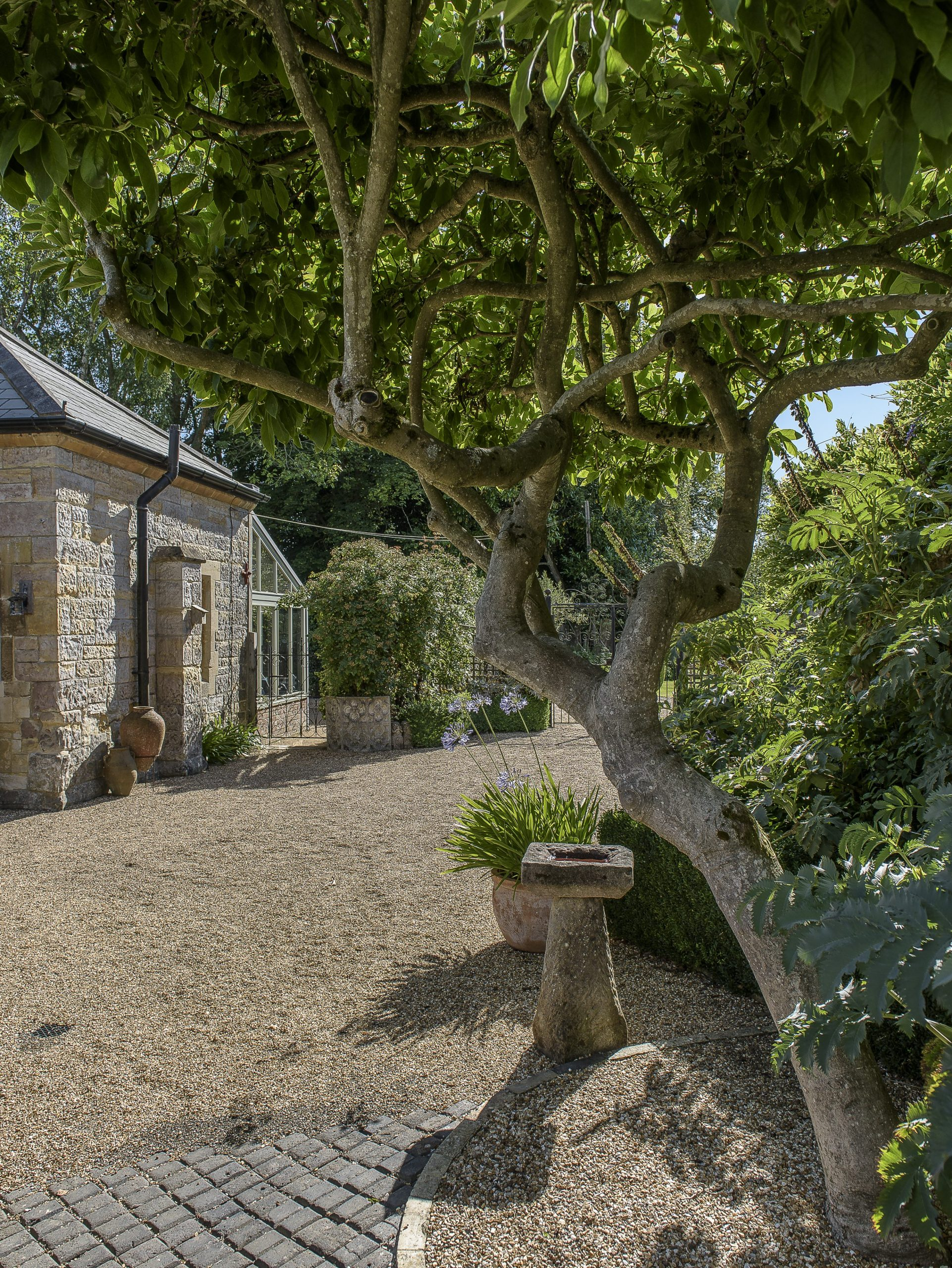 The couple have been opening the stunning gardens to visitors for several years, with the bed and breakfast a new development in 2020