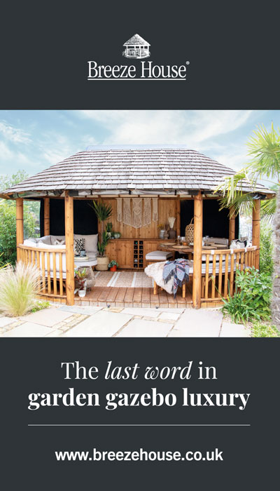 The last word in garden gazebo luxury