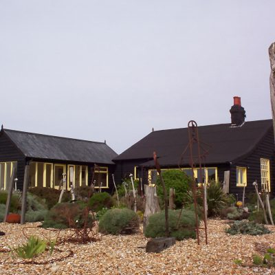 Derek Jarman's famous gravel garden at Dungeness Image: iStock.com/caronwatson